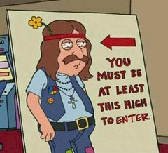 you must be at least this high to enter